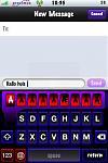 Keyboard letter ingedrukt blijven tot je special abn krijgt, kleuren wa veranderd, plus 123 world ook van kleur veranderd, zodat deze opvallen.